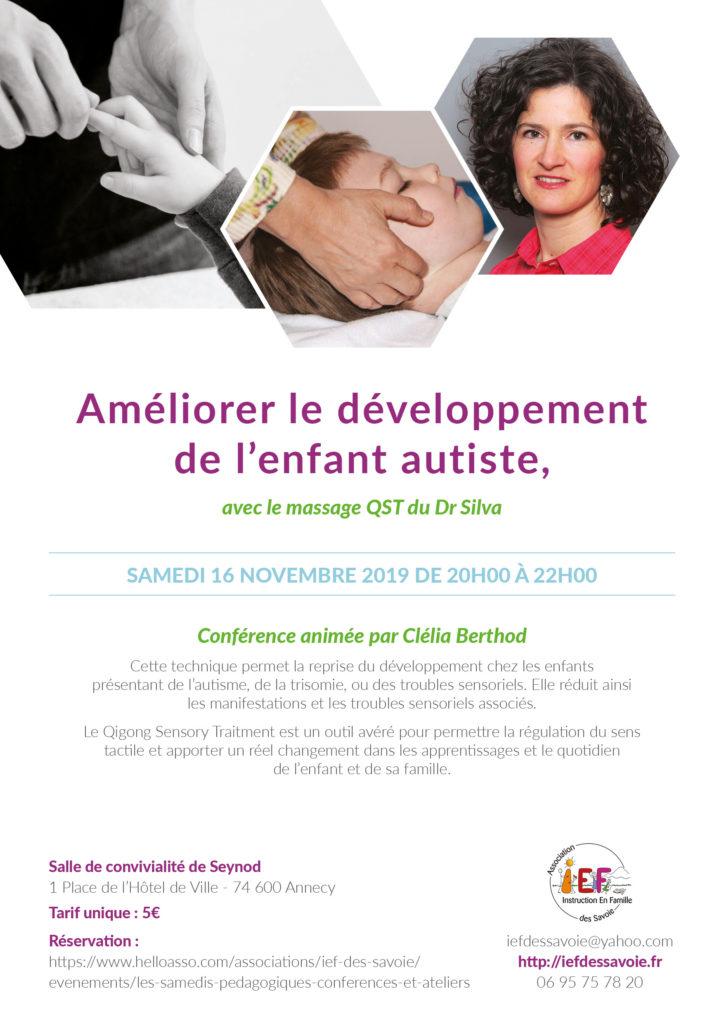 Améliorer le développement de l'enfant autiste